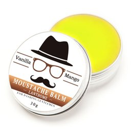 Wholesale 30G Gift Natural Beard Oil Conditioner Beard Balm for Beard and Organic Moustache Wax for Styling