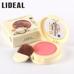 Wholesale New Fabulous Genuine LIDEAL Soymilk matte pearl rouge Blush High Quality Make Up Face Blusher color