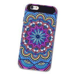 For Apple iPhone 7 Case,WeFor Nice Colorful Silicone 2 in 1 Hard Cover For iPhone 7