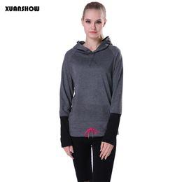 Spring and Autumn Jogging Tracksuit Women Hoodies Sports Coats Moleton Feminino Women Sweatshirt Pullovers