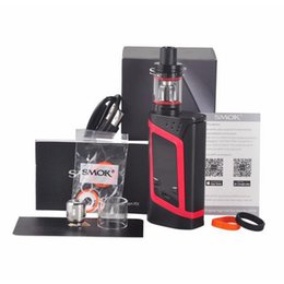 Wholesale SMOK Alien Kit With W Alien Mod Firmware Upgradeable ml TFV8 Baby Tank Top Refill System Original