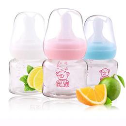 Wholesale Baby Nursing feeding bottle baby Glass milk fruit juice Bottle ml Nursing Bottles kids cup child nursing bottle