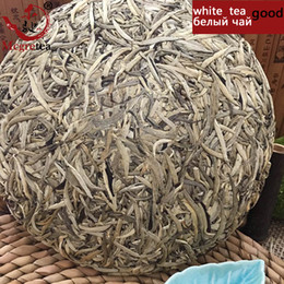 Wholesale Mcgretea GOOD Drink Old Tea Natural Organic Baihaoyinzhen Pekoe Silver Needle White Tea Cake Bai Hao Yin Zhen SALE