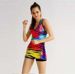 2016 choix de sports Livraison gratuite !!! Sport Femmes Fitness respirant Coloré Imprimé Yoga Gym Tank Top Votre meilleur choix Cadeau parfait pour vos amis choix de sports autorisation