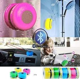 Promotion mains libres universel Portable imperméable sans fil Bluetooth Président douche voiture mains libres Recevoir appelant pour tout périphérique Bluetooth