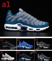 Air en cuir libre en Ligne-2016 Air hommes Tn chaussures en cuir respirant chaussures couleur classique 40-46 yards Livraison gratuite