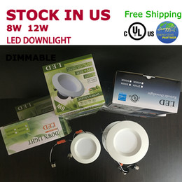 Wholesale Dimmable W W Led Recessed Downlight UL cUL Energy star certification best product for retailer