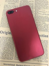 Promotion vidéo plus Jet Black Red En stock Goophone i7 Plus 64 bits Octa Core MTK6753T Android 6.0 4 Go RAM 32 Go ROM 1920 * 1080 FHD 16MP 4G LTE Touch ID Smartphone
