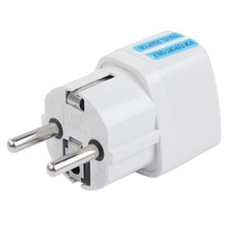 Wholesale High quality New Arrival Best Price Universal UK US AU to EU AC Power Socket Plug Travel Charger Adapter Conver