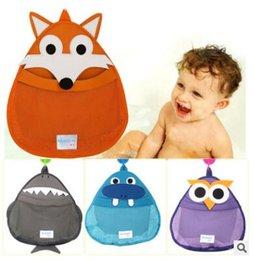 Wholesale Bath Toy Storage Net Fox Bag Cartoon Storage Bag Organizer Bathroom Garment Bag Hanging Organizer Accesorios Bathroom