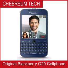 Free DHL Original BlackBerry Classic blackberry Q20 Phone Dual core 2GB RAM 16GB ROM 8MP Camera Unlocked Cell Phone Refurbished