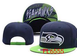 Wholesale Seahawks snapback Caps Adjustable Football Snap Back Hats Snapbacks High Quality Women Men Sports