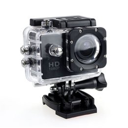 Wholesale SJ4000 Sports Camera Waterproof P Full HD MP Sports Action Recorder Bicycle Helmet m Diving Without TF Memory