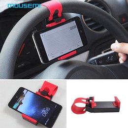 Wholesale Support mobile car phone holder for car steering wheel mount holder on bike automobile bicycle stand magnetic holder for phone