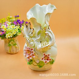 Wholesale Full Network Heat Sell European High Archives Arts And Crafts Vase Goods Of Furniture For Display Rather Than For Use Swan Originality