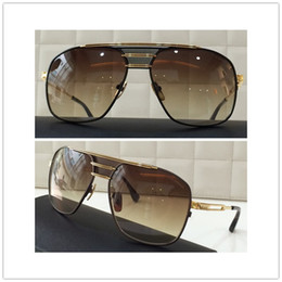 Dita Armada sunglasses DRX 2045 top quality 18k gold plated metal frame unisex model man women dita eyewear 8 colors free shipping