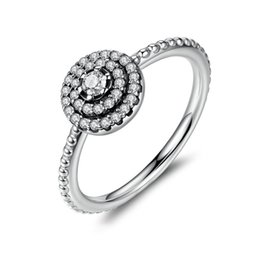 Simple series 925 pure silver special technology chain ring ring multi-diamond ring to give the female lover a must-have
