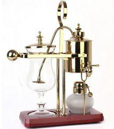 Wholesale Royal Belgium coffee maker balancing coffee machine expresso coffee maker silver golden promotion LLFA6063