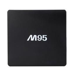 Amlogic android en Ligne-M95-MINI Android TV 6.0 Box Mini M95 Amlogic S905X Quad Core KODI16.1 3D Smart 4K Media Player CCA578 30pcs