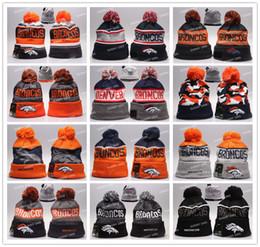 Wholesale Broncos Beanies Winter High Quality Beanie For Men Denver American Football Women Skull Caps On Field Skullies Knit Caps