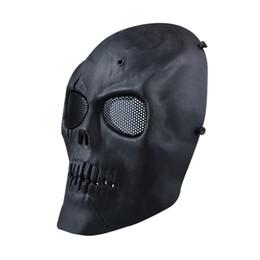 S5Q Airsoft Paintball Esqueleto Cara Completa Protect Máscara CS Field Máscara Protectora AAAGFP desde proteger a paintball proveedores