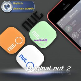 Acheter en ligne Enfants finder-Grossiste - 2015 Nut 2 Smart Tag Bluetooth Tracker Enfant Pet Key Finder Locator Alarme pour IOS Android 4 couleurs Livraison gratuite
