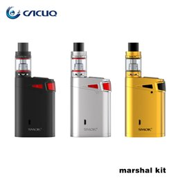 Wholesale Authentic SMOK Marshal G320 Kit W W Advanced Starter Kit with ml Top Refilling TFV8 Big Baby Tank Top Oled Display
