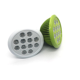 Led Plant Grow Light Full Spectrum E27 24W 10 Red 2 Blue PAR Lamp AC85-265V LED Grow Bulb For Flower Plant Garden