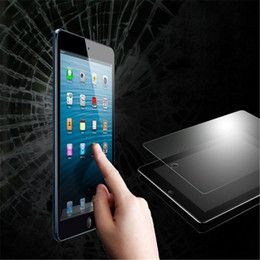 Shatter Proof Explosion Proof 9H 0.3mm Screen Protector Tempered Glass for iPad 2 3 4 Air 2 No Package