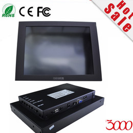 free shipping DHL express 10.4 inch touch screen monitor for machine equipment IPC Touch Monitor open frame touch display