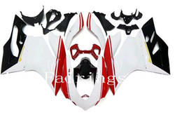 Wholesale New Injection ABS bike Fairing Kits Fit For DUCATI S Panigale s Bodywork nice red white
