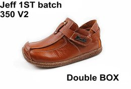 Wholesale 1st Batch Jeff V2 Casual Shoes Double Box Shipping Unisex size available
