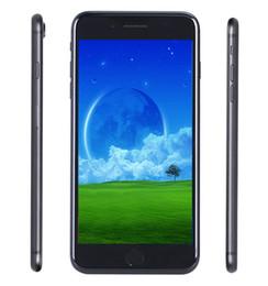Couleur dual quad en Ligne-I7 Plus 5.5 4.7 pouces Goophone téléphone couleur intelligente quad-core dual-core Android 6.0 Bluetooth empreinte digitale déverrouiller téléphone clone smartphone