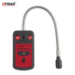 Wholesale UYIGAO Automotive Combustible Gas Meter monitor gas leak detector Gas Location Determine Tester Analyzer with Sound Light Alarm