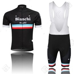Wholesale New arrive team bianchi bicycle men cycling jersey bike jersey maillot ciclismo KTM Ropa ciclismo MTB Cycling clothing BIB Shorts