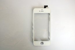 Wholesale Front LCD Frame Holder Bracket With Solid Glue Sticker iPhone5 TP Frame bracket one OCA Replacement Parts