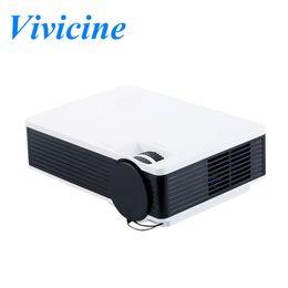 Vivicine Projector JX23, 1000 Lumens Pas cher Pocket Mini HDMI USB Home Cinéma Cinéma Jeu vidéo Projecteur Projecteur Beamer à partir de jeux vidéo bon marché fabricateur