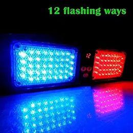 86 LED Windshield SunShield High Intensity LED Law Enforcement Emergency Hazard Warning Strobe Lights