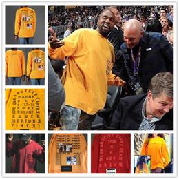 Compra On-line Camisas novas do partido-Camisa nova de Kanye West da camisa 2017 de Pablo Kanye T-shirt T-shirt de Hip Hop da roupa do tipo do verão dos homens NENHUM MAIS PARTIES no T do LA