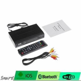 Definición entorno en Línea-1080P DVB-T2 Definición HD Receptor terrestre de radiodifusión de vídeo digital Compatible con MPEG-2 / MPEG-4 H.264 TV Set Top Box