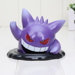 Wholesale 10cm Anime Pikachu Ichiban Kuji POKKEN TOURNAMENT Prize C Gengar PVC Action Figure Doll Resin Collection Model Toy Gifts Cosplay