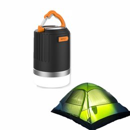 Wholesale coolACC mah Camping Lantern long Battery Life LED Light Night Lamp Recharger Power Bank With Lumens Waterproof Light LP1