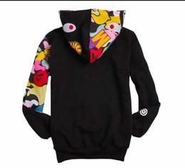 US tide fashion casual hoodie men and women couples fleece hooded jacket S-XXL