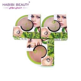 Huda Green Tea Aquatic Powder Habibi Beauty Face Foundation Makeup Ana Pink Pressed powder 30g Foundation Make up Cosmetics