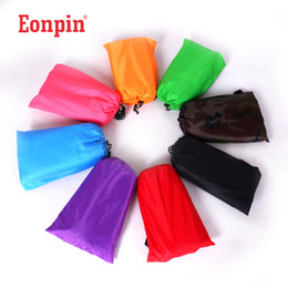 Out Sleeping Bag Lazy Sofa Inflatable Air Sofa Bed Lazy Bones Beach Lounge Foldable Camping Fast Sleeping Bed Airbags 260