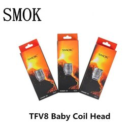 Wholesale 100 Authentic Smok TFV8 BABY Beast Tank Coils Head V8 Baby T8 V8 Baby T6 V8 Baby X4 V8 Baby Q2 Core OSUB Plus H PRIV Mini Original