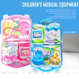 Wholesale Simulation medicine box medical box doctor toy suit baby injection stethoscope children had a family toy