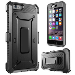 Impact Rugged Hybrid Toughened Armor Case with Holster Belt Clip Build in Screen Protector for Apple Iphone 6S 7 plus Samsung Galaxy S6 S7