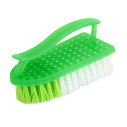 Wholesale AUTO Plastic Clothes Shoes Bristle Scrub Brush Cleaning Tool
