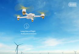 Promotion gps quadcopter fpv (Blanc et noir en stock) 2016 Hubsan X4 FPV H501S Quadcopter nouveau drone 1080P appareil photo GPS Follow me and home return